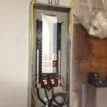 electrical breaker box install