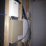electrical and control box installation