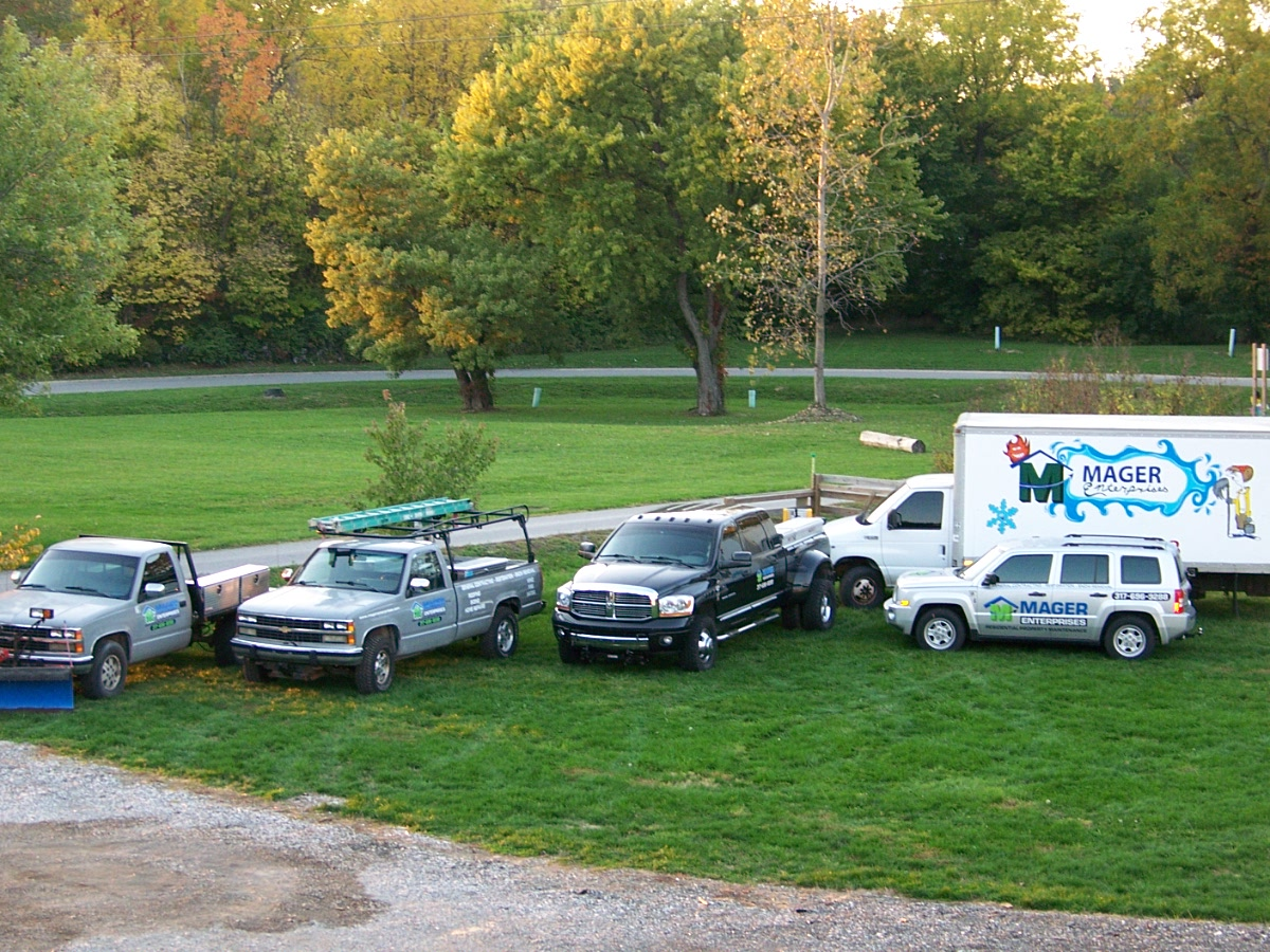 Mager enterprises general contractor Indianapolis equipment