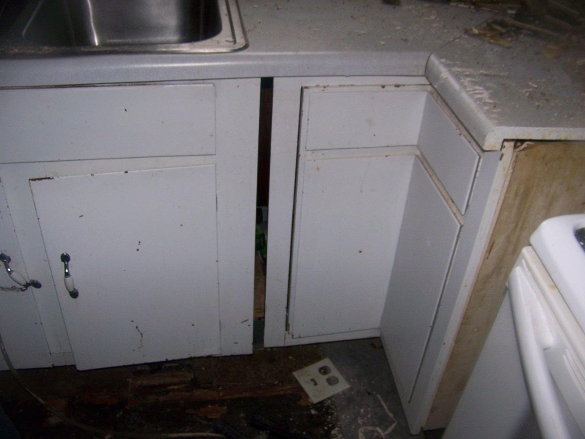 water restoration kitchen